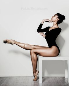 JUST LOOK AT THAT CALF MUSCLE. | 16 Photos That Prove Ballerinas Are Strong AF