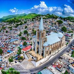 The city of Miragoane, in the south part of Haiti