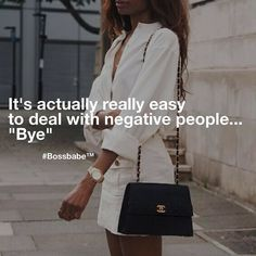 Stop wasting your time with negativity. Come join the fastest growing network of ambitious millennial women  bossbabe.me #BossBabe