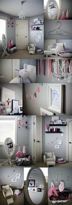 Blue Ribbon Studio: Little Girl's Room....(via Pink Sugar Photography)
