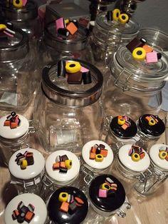 Cernitlakridskonfekt på små glas 2014