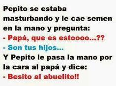 Pepito makes us laugh!
