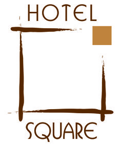 Hotel Square (Hotel in Paris) logo and brand identity