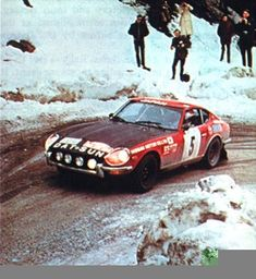 The DATSUN 240Z Rally Cars