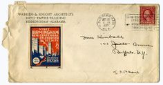 1921 Warren & Knight letter by Dystopos, via Flickr