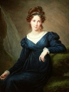Portrait of Tatiana Borisnova Potemkina (1797-1869), née princess Golitsyna, a Russian philantrophist | Louise Élisabeth Vigée-Le Brun (1820)