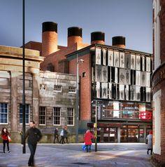 #GreenBuilding #Magazine - #Everyman #Theatre a #Liverpool. Completato il #restyling #sostenibile. © Philip Vile. Courtesy of Haworth Tompkins