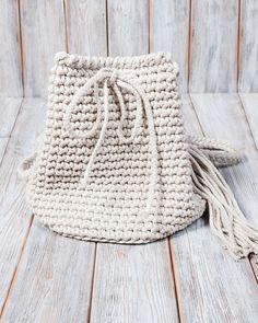Umhängetaschen - Torebka-plecak 2w1 w kolorze kawy z mlekiem - ein Designerstück von Mayalove- bei DaWanda Designer, Crochet Hats, Throw Pillows, Handmade, Etsy, Bags, Knitting Hats, Toss Pillows, Hand Made
