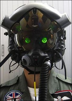 This is the helmet for the new F-35 Airplane (UK Pilot)