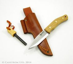 Casstrom Shooting, Fishing & Outdoor products - Casstrom No.10 Swedish Forest knife - Oak