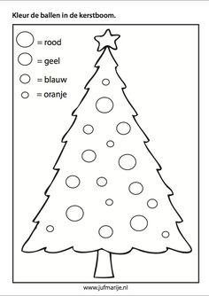 Kerstballen de juiste kleur geven - Color the balls according to size Nordic Christmas, Noel Christmas, Christmas Colors, Christmas Themes, Christmas Candles, Modern Christmas, Christmas Activities For Kids, Christmas Crafts For Kids, Christmas Printables