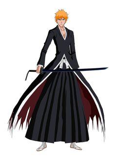 Anime/manga: Bleach Character: Kurosaki Ichigo, Bankai