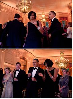 Barack & Michelle Obama- How America got its groove back.