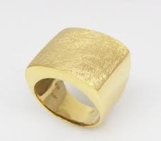 Resultado de imagen para anillo oro amarillo
