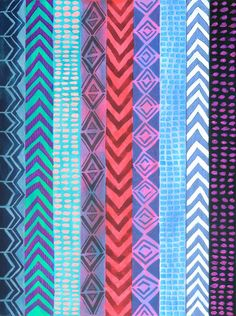 Peru Stripe on Society6