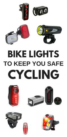 Here's a look at some of the best bike lights to add to your collection of bike gadgets and biking gear! If you're getting a cycling workout in outdoors and you're riding when it's starting to get dark out, bike safety is essential for biking at night. Cycling Art, Cycling Jerseys, Cycling Bikes, Road Cycling, Cycling Equipment, Cycling Quotes, Cycling Motivation, Bike Quotes, Indoor Cycling