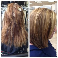 New Year & Time for a #makeover #before&after Haircut done by Stylist Teresa & Color by #pattys #mariotricociarlingtonheights