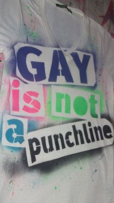 LGBT Gay Lesbian Pride Gay is not a by rainbowalternative on Etsy, $22.00
