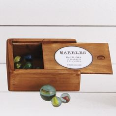 The Perfect Gift Wooden Marble Set - From Provincial Home Living
