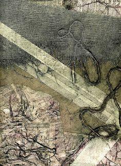 This is a collograph plate. Collagraph Printmaking, Etching Prints, Textile Fiber Art, Ap Art, Print Artist, Collage Art, Creative Art, Graphic Art, Art Prints