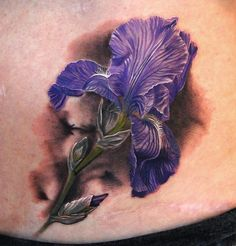 Iris...Phil Garcia....His florals are INSANELY DETAILED and STUNNING!!!