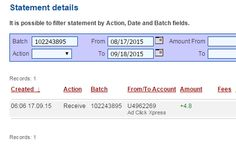 Here is my Withdrawal Proof from AdClickXpress! I get paid daily and I can withdraw daily. Online income is possible with ACX, who is definitely paying - no scam here.I WORK FROM HOME less than 10 minutes and I manage to cover my LOW SALARY INCOME. If you are a PASSIVE INCOME SEEKER, then AdClickXpress (Ad Click Xpress) is the best ONLINE OPPORTUNITY for you!! http://www.adclickxpress.com/?r=9tx45jesr2ee&p=mx