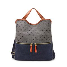 Shop Women's Fossil Totes and shopper bags on Lyst. Track over 1309 Fossil Totes and shopper bags for stock and sale updates. Fossil Handbags, Women's Handbags, Satchel Handbags, Fossil Watches, Denim Bag, Denim Jeans, Fabric Bags, Shopper Bag, Scrappy Quilts