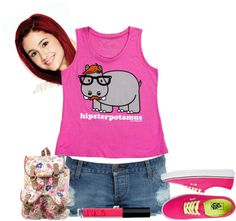 Cat STYLE Cat Outfit, Valentines Outfits, Cat Valentine, Victorious, Aesthetics, Kitty, Entertainment, Mood, T Shirts For Women