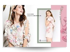 Fashion Banner Design designed by Shaira Guevara. Connect with them on Dribbble; Lookbook Layout, Lookbook Design, Best Banner Design, Fashion Banner, Fashion Advertising, Print Advertising, Web Design, Email Design, Fashion Graphic Design