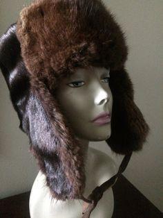 Russian Fur Ushanka Trooper Hat by LottieDottieVintage on Etsy