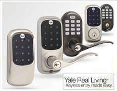 Digital Lock, Security Solutions, Wireless Security, Gadgets And Gizmos, Grade 2, Outdoor Ideas, Techno, Keyboard, Make It Simple