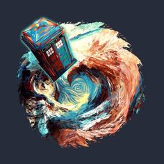 Shop Time travel Phone box at Starry Dark Vortex tardis t-shirts designed by as well as other tardis merchandise at TeePublic. 13th Doctor, Eleventh Doctor, Eighth Doctor, Doctor Who Wallpaper, Tardis Wallpaper, Doctor Who Tattoos, Science Fiction, Doctor Who Fan Art, Fanart