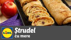 Strudel cu mere • reteta Bucataria Lidl - YouTube Hot Dog Buns, Hot Dogs, Strudel, Lidl, French Toast, Bread, Breakfast, Youtube, Food