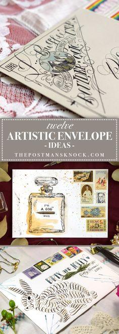 12 Artistic Envelope Ideas – The Postman's Knock