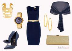 Little Navy Blue Dress