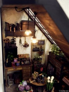 Studio Soo Flower Shop Miniature