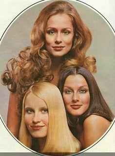 Lauren Hutton, Veronica Hamel, and Gunilla Lindblad