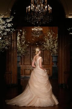 Romona Keveza Spring 2014 Bridal Couture Collection by Belle The Magazine  very elegant