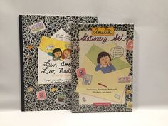 Luv Amelia Luv Nadia Book and Stationery Set American Girl 1999 First Paperback #AmericanGirl