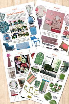 Baharı pastel tonlarla karşılamaya ne dersiniz? Alışveriş önerileri, Evbahçe'nin mart sayısında...