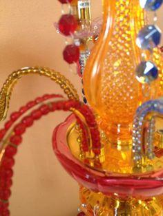 Lampada da tavolo stile Murano