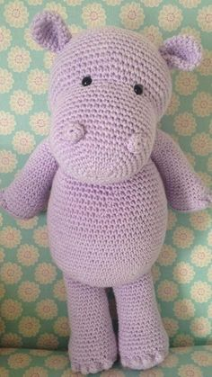 Is a hippopotamus really a hippopotamus or just a very cool opotamus? Crochet your very own cool, cuddly pal complete with bobble fingers and toes!Read more »