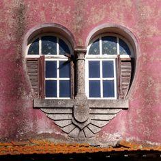 a heart shaped