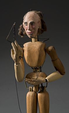 HURVINEK SPEJBL handmade from CZECH REPUBLIC 3 wooden marionettes MANICKA
