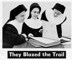 Sisters of the Holy Family of Nazareth - Sisters Sophia, Virgiline and Simplicia