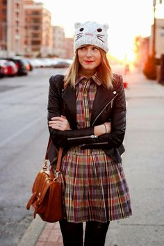 Felicity plaid dress II · PepaLoves