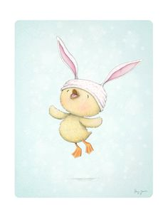 art print children's wall art duckling spring von staceyyacula