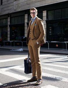 ブラウンスーツの着こなし、コーディネート画像、スナップ写真(メンズ編) - NAVER まとめ