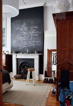 Rethinking the Chalkboard Wall