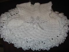 Crochet Baby Party dress Video Two - YouTube